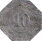 10 Pfennig (Coburg) [Stadt, Sachsen-Coburg] – reverse