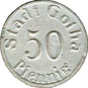50 Pfennig (Gotha) [Stadt, Sachsen-Gotha] – obverse
