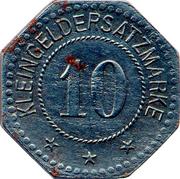10 Pfennig (Allstedt) [Stadt, Sachsen-Weimar-Eisenach] – reverse