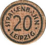 20 Pfennig (Leipzig) [Strassenbahn, Sachsen] – obverse
