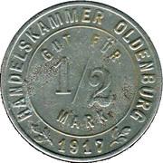 ½ Mark (Oldenburg) [Gemeinde, Sachsen-Weimar-Eisenach] – obverse