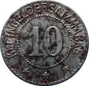 10 Pfennig (Weida) [Stadt, Sachsen-Weimar-Eisenach] – reverse