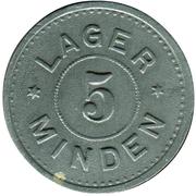 5 Pfennig (Minden) [POW, Westfalen] – obverse