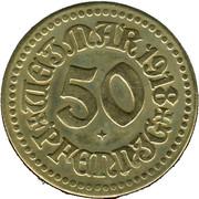 50 Pfennig (Weimar) [Stadt, Sachsen-Weimar-Eisenach] – obverse