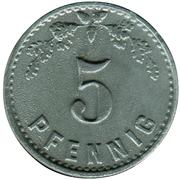 5 Pfennig (Minden) [POW, Westfalen] – reverse