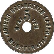 5 Pfennig (Münster) [POW, Westfalen, Münster III] – obverse
