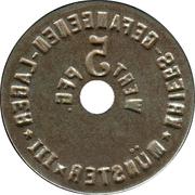 5 Pfennig (Münster) [POW, Westfalen, Münster III] – reverse