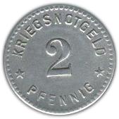 2 Pfennig (Gotha) [Städte des Herzogtums, Sachsen-Coburg] – reverse