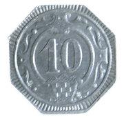 10 Pfennig (Hamm) [Stadt, Westfalen] – reverse