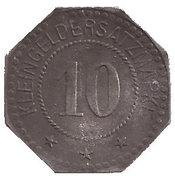 10 Pfennig (Trostberg) [Private, Bayern, Bayer Stickstoffwerke] – reverse