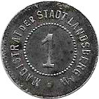 1 Pfennig (Landsberg an der Warthe) [Stadt, Brandenburg] – obverse