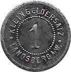 1 Pfennig (Landsberg an der Warthe) [Stadt, Brandenburg] – reverse