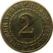 2 Pfennig (Bremen) [Stadt, Freie Stadt] – reverse