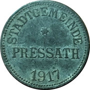 50 Pfennig (Pressath) [Stadt, Bayern] – obverse