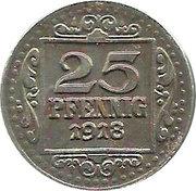 25 Pfennig (Münster) [Stadt, Westfalen] – reverse