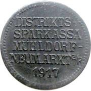 10 Pfennig (Mühldorf - Neumarkt) [Private, Bayern, Distriktssparkasse] -  obverse