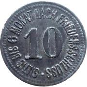 10 Pfennig (Mühldorf - Neumarkt) [Private, Bayern, Distriktssparkasse] -  reverse