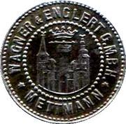10 Pfennig (Mettmann) [Private, Rheinprovinz, Wagner & Englert GmbH] – obverse