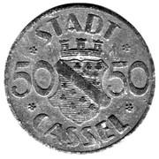 50 Pfennig (Cassel) [Stadt, Hessen-Nassau] – obverse