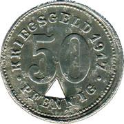 50 Pfennig (Neheim) [Stadt, Westfalen] – reverse