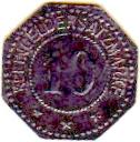 10 Pfennig (Pinneberg) [Private, Schleswig-Holstein, Bank] – reverse