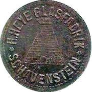 10 Pfennig (Schauenstein) [Private, Hessen-Nassau, H. Heye Glasfabrik] – obverse