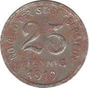 25 Pfennig (Oberstein) [Stadt, Oldenburg-Birkenfeld] – obverse