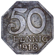 50 Pfennig (Maulbronn) [Oberamtsbezirk, Württemberg] – reverse