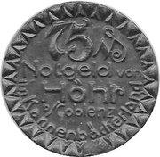 75 Pfennig (Höhr) [Stadt, Hessen-Nassau] – obverse