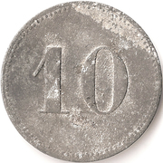 10 Pfennig (Neisse) [POW, Silesia] – reverse