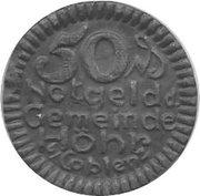 50 Pfennig (Höhr) [Stadt, Hessen-Nassau] – obverse