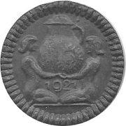 50 Pfennig (Höhr) [Stadt, Hessen-Nassau] – reverse