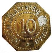 10 Pfennig (Frauenau) [Private, Bayern, Krystallglasfabrik] – obverse