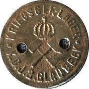 10 Pfennig (Gladbeck) [POW, Westfalen] – reverse