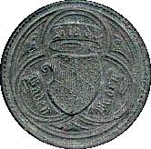 10 Pfennig (Baden-Baden) [Stadt, Baden] – reverse