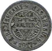 10 Pfennig (Wasserburg am Inn) [Bezirksamt, Bayern] – obverse