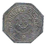 50 Pfennig (Kehl am Rhein) [Stadt, Baden] – reverse
