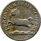 5 Pfennig (Braunschweig) [Herzogtum] – obverse