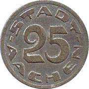 25 Pfennig (Aachen) [Stadt, Rheinprovinz] – obverse