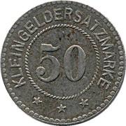 50 Pfennig (Weida) [Stadt, Sachsen-Weimar-Eisenach] – reverse