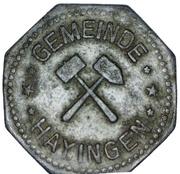 10 Pfennig (Hayingen) [Gemeinde, Lothringen] – obverse