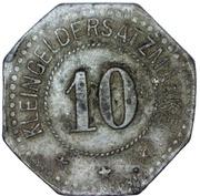 10 Pfennig (Hayingen) [Gemeinde, Lothringen] -  reverse