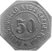 50 Pfennig (Gardelegen) [Kreis, Provinz Sachsen] – obverse