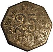 25 Pfennig (Buer in Westfalen) [Stadt, Westfalen] – reverse