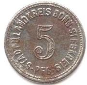 5 Pfennig (Bonn-Siegkreis) [Stadt-,Land- und Siegkreis, Rheinprovinz] – obverse