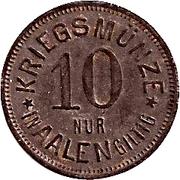 10 Pfennig (Aalen) [Stadt, Württemberg] – reverse