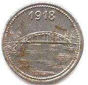 5 Pfennig (Bonn-Siegkreis) [Stadt-,Land- und Siegkreis, Rheinprovinz] – reverse