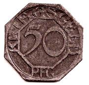 50 Pfennig (Dortmund) [Stadt, Westfalen] – reverse