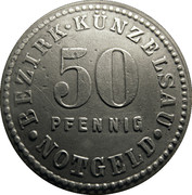 50 Pfennig (Künzelsau) [Stadt, Württemberg] -  obverse