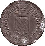 10 Pfennig (Ehingen) [Stadt, Württemberg] – obverse